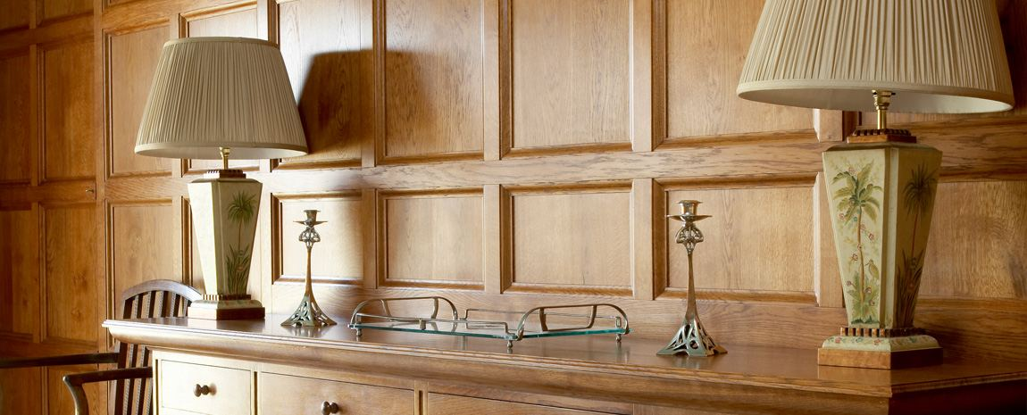 Light Oak Panelling