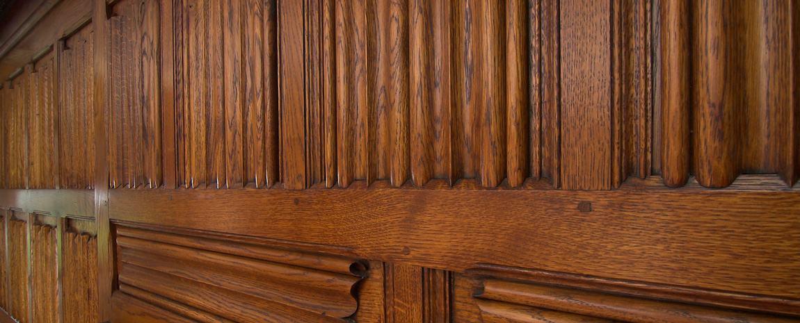 Oak Linenfold Panelling