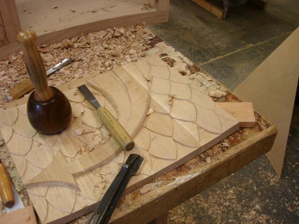 Hand Carving Solid Oak Door Panels