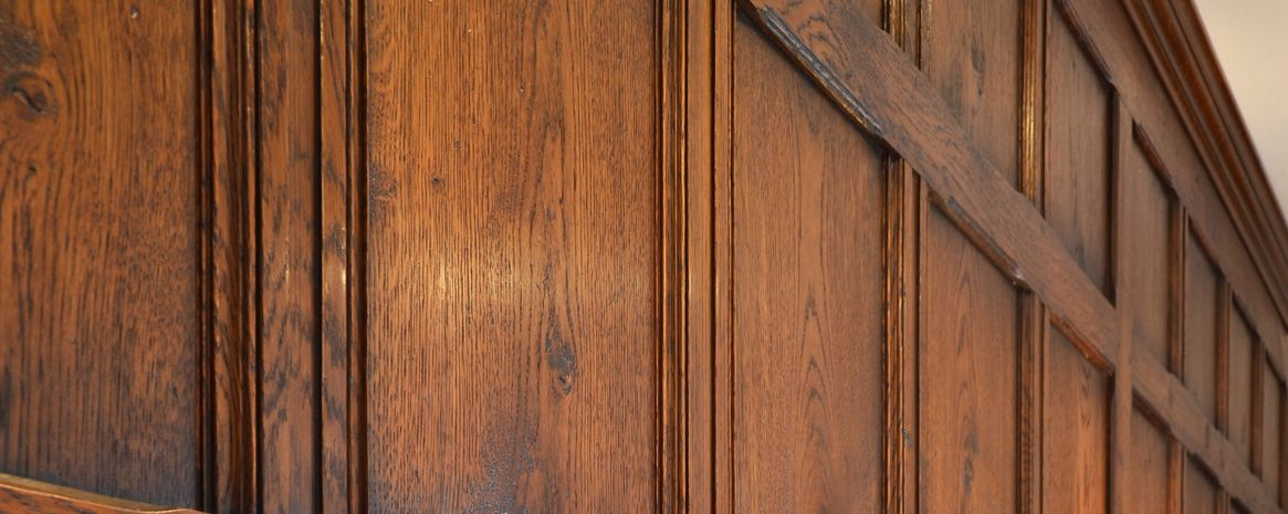Character Solid Oak Panelling