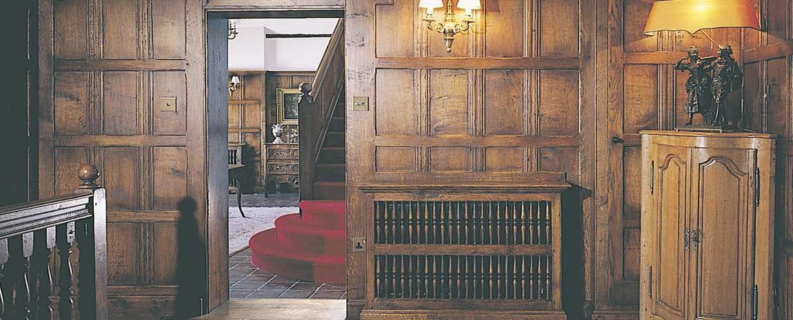 Oak panelling and doors