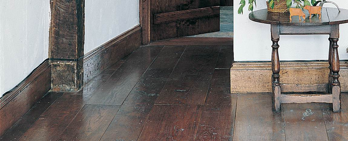 Replacement aged oak flooring