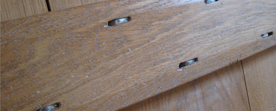 Oak Boarded Door