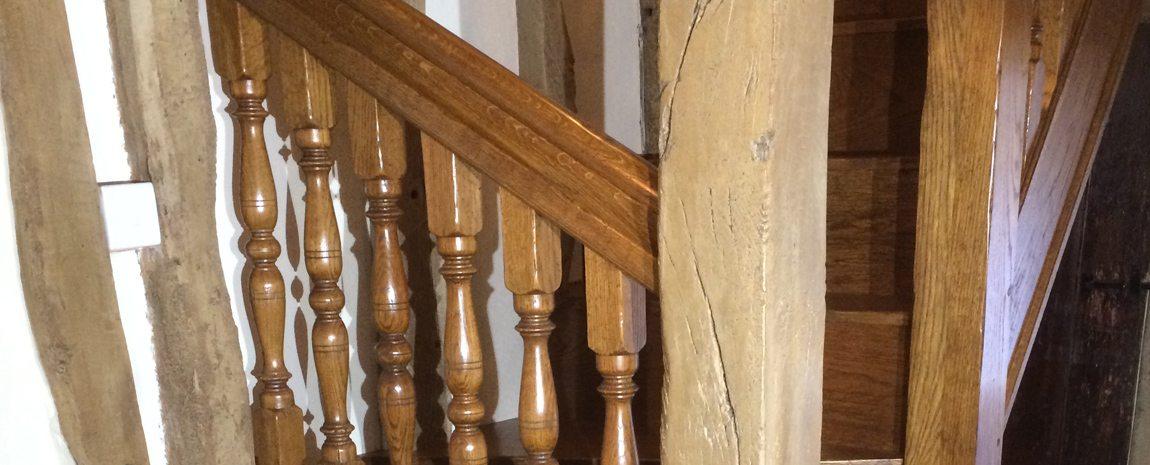 Oak Stairsase