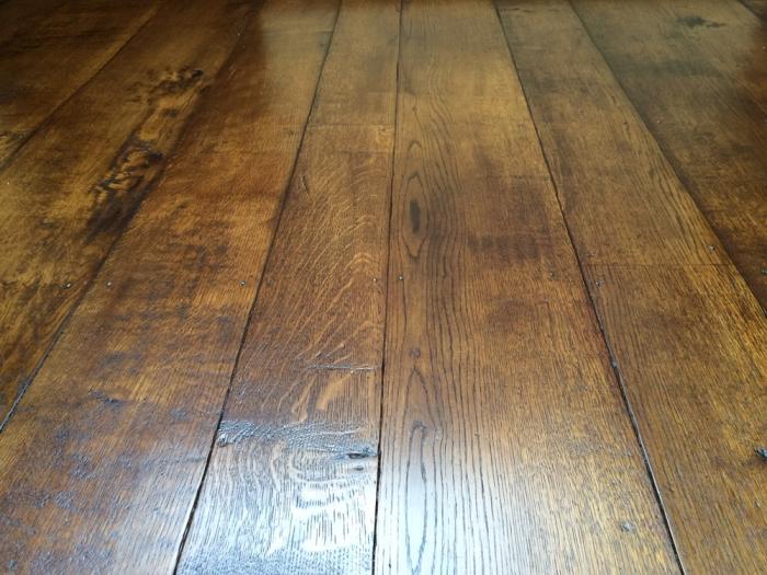 Random Width Light Character Oak Flooring