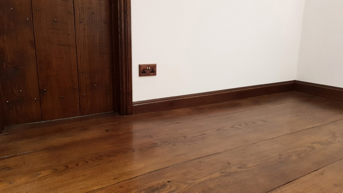Solid Oak, Wide Character Flooring