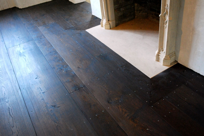 Specially selected very wide Solid Oak Floor Boards