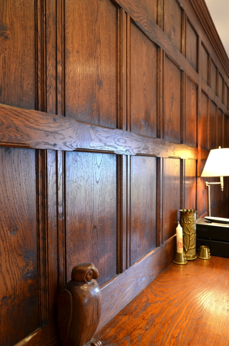 Solid Oak Wall Panelling