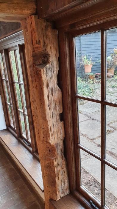 Bespoke Oak framed casement Window