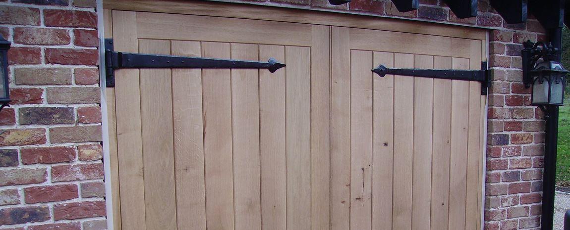 Oak Garage Doors