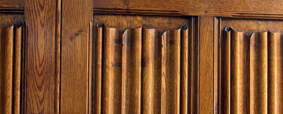 Oak Linefold Panelling