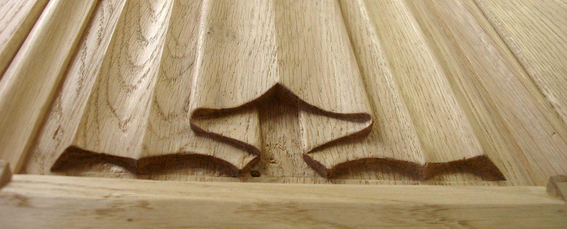 Oak Linenfold Panel