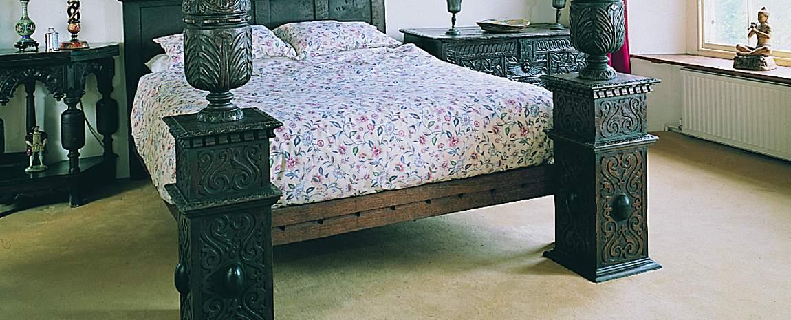Oak Four Poster Bed