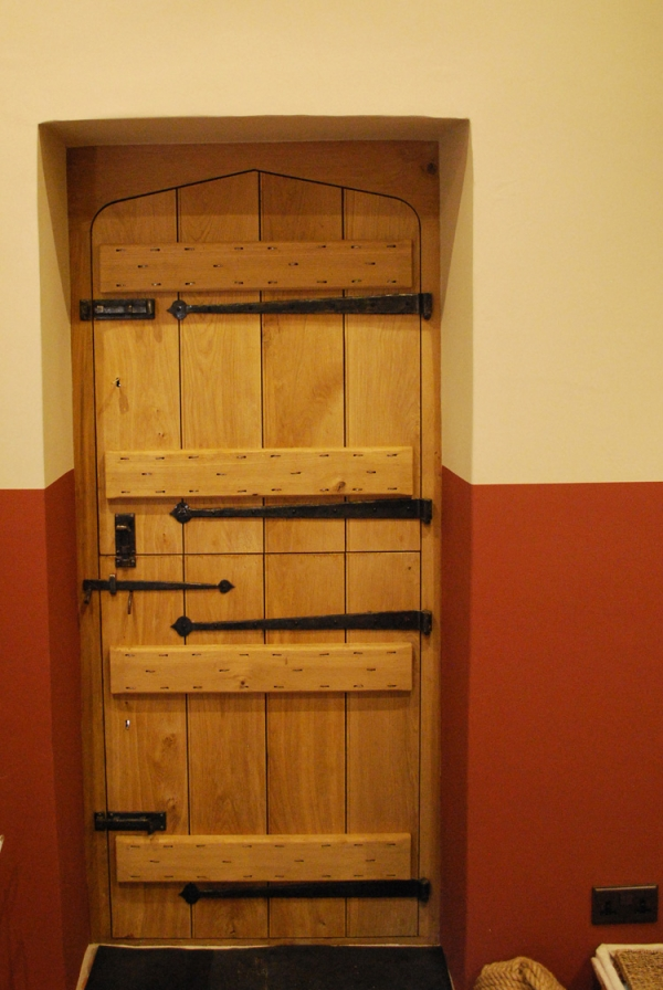 Oak Stable Door with Hand Forged Ironmongery