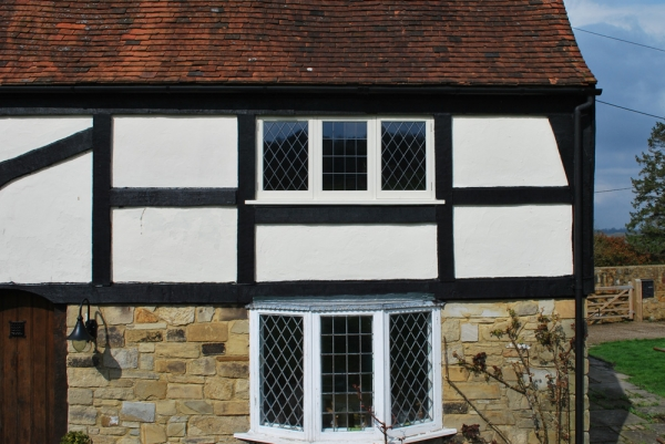 Replacement first floor windows to match existing