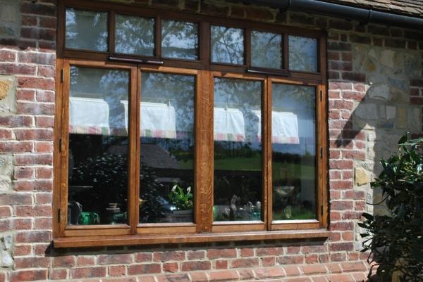 Oak Window Frame restored