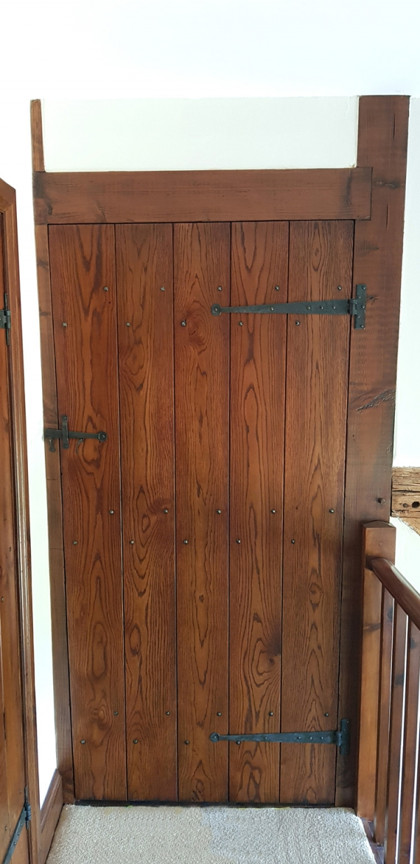 Distressed and Polished Boarded Door