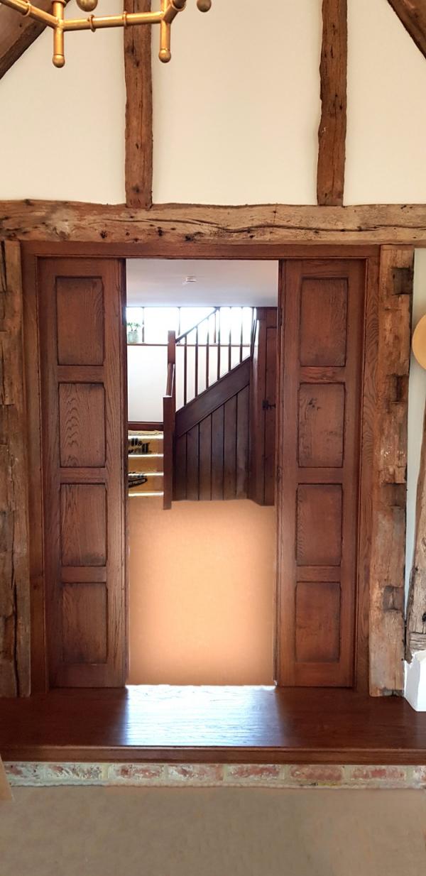 Solid Oak Bi-Fold Doors