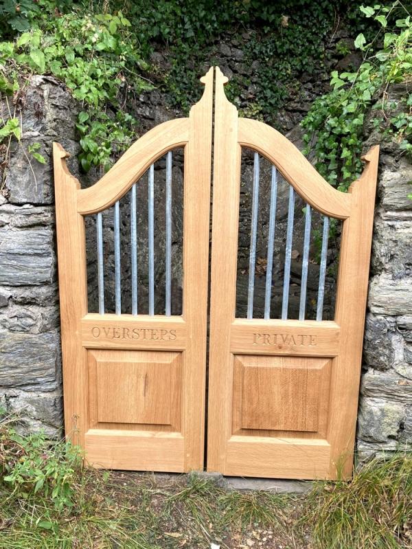 Oak Garden Gates