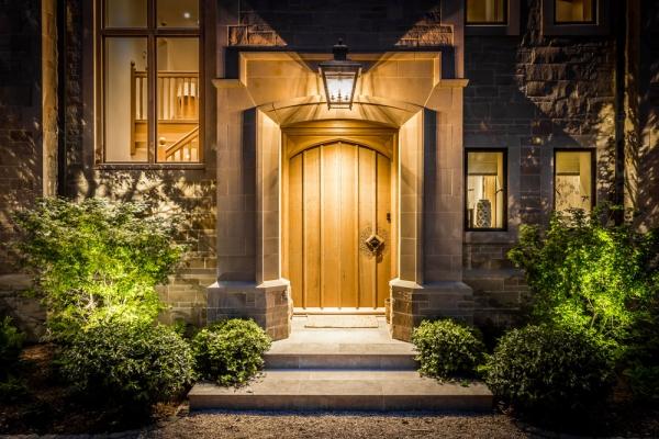 A magnificent Oak Entrance Door