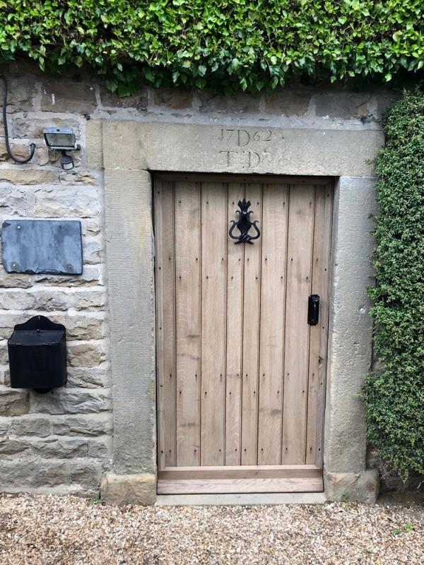 Replacement Oak Door
